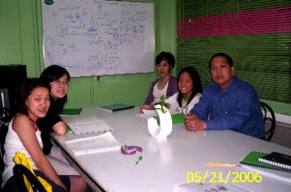 Group class in Manila office
